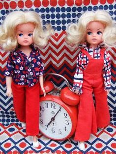 Time Out: Yes we're late, but that's only because we care about how we look Barbie, Sindy Doll, Doll Toys, Baby Dolls, Exeter, Tammy Doll, Fur Wrap, Old Dolls, Past Life
