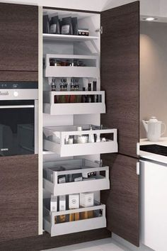 Learn how to sort out kitchen drawers, maximize kitchen cabinet space, and more with these clever organization tips.