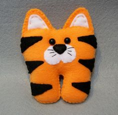 Tiger Tooth Fairy Pillow