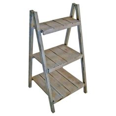 Cheung's FP-3120 Folding Step Shelf Plant Stand, As Shown