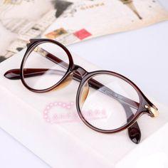 new vintage glasses plain glasses myopia eyeglasses frame fashion optical glasses free shipping oculos de grau femininos A0010