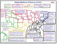 BBQ Regions