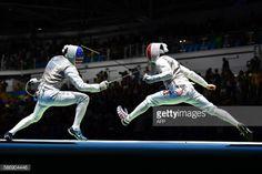 US Gerek Meinhardt (L) competes against France's Erwan le... #lemelesursarthe: US Gerek Meinhardt (L) competes against… #lemelesursarthe