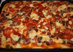 A házi pizza elkészítése távolról sem olyan bonyolult mint hinnéd. Asian Dinner Recipes, Fast Dinner Recipes, Fast Dinners, Delicious Dinner Recipes, Flatbread Pizza Recipes, Easy Homemade Pizza, Good Pizza, Street Food, Vegetable Pizza