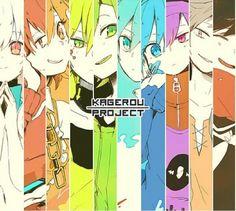 Mekakushi-Dan | Kagerou Project Manga Anime, All Anime, Anime Art, Anime Stuff, Vocaloid, Kagerou Project, Otaku, K Project, Fan Art