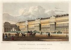 London: Queen's Square Bloomsbury from Repository of Arts 1812 >> See the Deals! London Square, Old London, London View, London Art, London Street, British Library, Bloomsbury, A4 Poster, British Museum