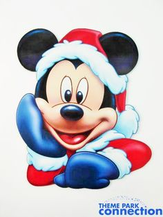 Christmas - Disney - Mickey Mouse Minnie Mouse Drawing, Mickey Mouse Cartoon, Mickey Mouse And Friends, Mickey Minnie Mouse, Stencil, Tweety, Disney Cards, Holiday Store, Mickey Mouse Christmas