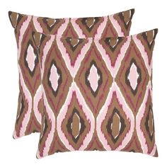 I pinned this Safavieh Tristan Pillow - Set of 2 from the Design Report event at Joss & Main!