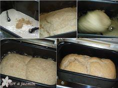 ! Olor a jazmín !: Pan de molino en panificadora (100% masa madre) Bread, Breads, Crack Cake, Cooking, Recipes, Brot, Baking, Buns