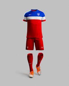 NIKE, Inc. - Nike Apresenta Segundo Uniforme da Seleção Americana #calcio #sport #maglietta