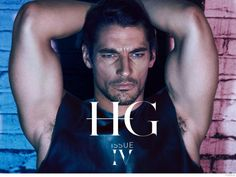 David Gandy Poses Shirtless in Leather + Jeans for HGIssue image David Gandy Shirtless HGISSUE 2014 001 800x600