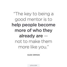 FACT. The  to a good mentor. #mentorshipmay