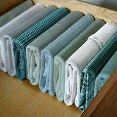 Los cajones son básicos para poner orden en el armario. Con estos consejos vamos a aprovecharlos mejor.