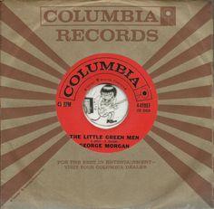 GEORGE MORGAN Little Green Men HALLOWEEN HORROR HILLBILLY COUNTRY BOPPER 45 RPM JOIN ME ON FACEBOOK:  https://www.facebook.com/#!/groups/173196599474213/
