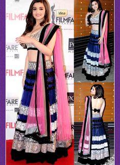 Buy Sumptuous Blue Sequins Work Net Designer Lehenga Choli, Online