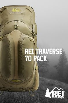 A comfortable pack influenced by member feedback and the experts who work in our stores