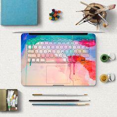 macbook skin laptop decal macbook keyboard sticker macbook pro decal by MixedDecal on Etsy