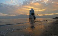 Light House at Burnham on Sea Somerset.