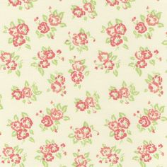3001 - Flor Campestre Salmão -  Tecidos Fabricart