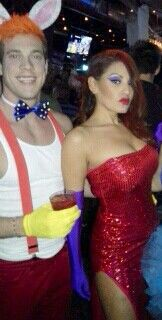 Jessica and Roger rabbit couples costume