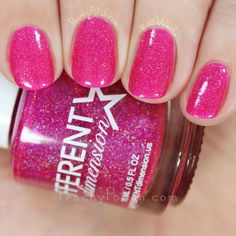 Different Dimension Serendipity | Serendipity Collection | Peachy Polish - this is an amazing #pink