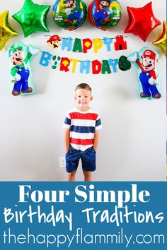 Four easy annual birthday traditions. Birthday traditions for new families. Creating your own family traditions. Birthday traditions for kids. How to make birthdays special. Easy and inexpensive birthday traditions. Birthday activity ideas. How to simplify birthdays. Making birthdays special for kids. #birthdays #traditions #family #familyfun #food #Party Birthday Traditions, Family Traditions, Birthday Activities, New Community, Best Part Of Me, Holiday Parties, Birthdays, Birthday Parties, Faith