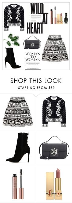 """It's All About YOU x"" by xpinkplaymatex ❤ liked on Polyvore featuring Alexander McQueen, ALDO, Yves Saint Laurent and Hot Topic"