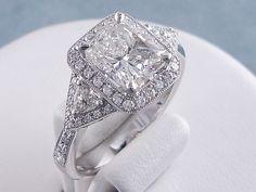 radiant cut diamond rings   Radiant Cut Diamonds