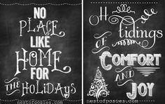 50+ Free Christmas Printables of All Types