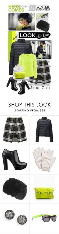 """""""Cool Winter Sunnies"""" by shortyluv718 ❤ liked on Polyvore featuring McQ by Alexander McQueen, Uniqlo, H&M, GUESS, Lucky Brand, Topshop, Andrea, FOSSIL and Maui and Sons"""