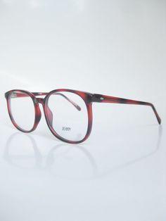 8ca08c8160 Vintage 1960s Round Wayfarer Chocolate Tortoiseshell Eyeglasses Glasses  Sunglasses 60s Dark Brown Amber 60s Sixties Oversized Indie Hipster