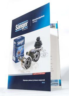 Sanger CVJ A4 leaflet cover.