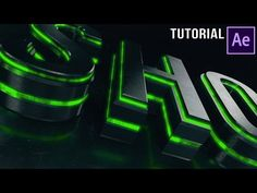 After Effects Tutorial   Dubstep :  Element 3D Logo Reveal - YouTube