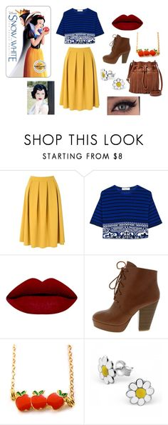 """""""snow white day out"""" by youngblood-killjoy-sinner ❤ liked on Polyvore featuring mode, Glamorous, Emilio Pucci, FOSSIL, women's clothing, women's fashion, women, female, woman en misses"""