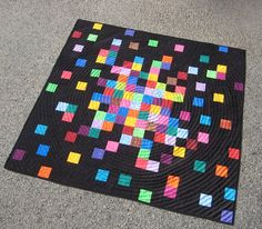 pixelated quilt-this is pretty cool
