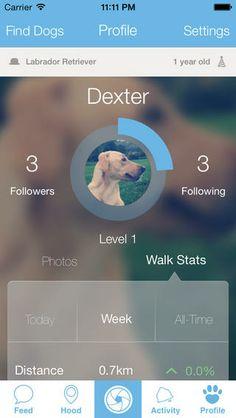 Woof app mobile ios7