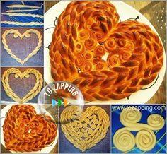Cómo hacer corazón de pan.Hoy queremos enseñaros a hacer este pan de forma muy original, esta receta de cómo hacer corazón de pan, os sirve para celebrar