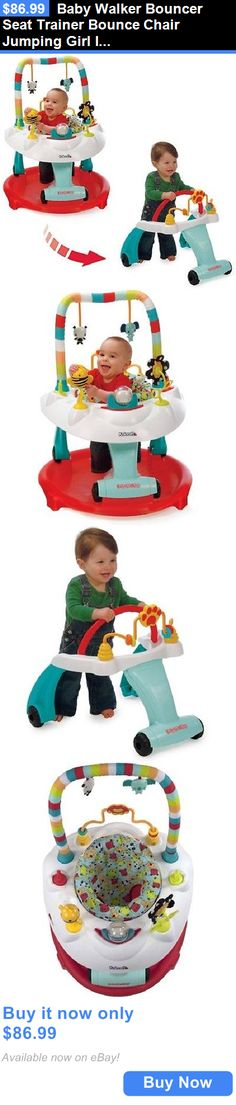 baby kid stuff: Baby Walker Bouncer Seat Trainer Bounce Chair Jumping Girl Infant Gift Boy Child BUY IT NOW ONLY: $86.99