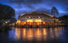Blue Hour At The Golden Horseshoe