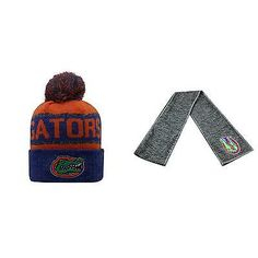 NCAA Florida Gators Belowzero Beanie Hat And Hail Scarf 2 Pack 31938
