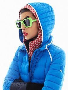 Winter outerwear brights #GraziaItaly
