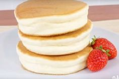 This Japanese pancake recipe has exploded online: One look at the ingredients an. This Japanese pancake recipe has exploded online: One look at the ingredients and you& understand why Dessert Minute, Helathy Food, Japanese Pancake, Easy Smoothie Recipes, Tortilla, Different Recipes, Love Food, Food Inspiration, Sweet Recipes