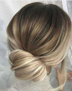 This blonde balayage