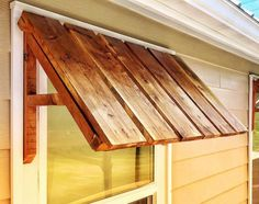 Awning Over Door, Porch Awning, Diy Awning, Diy Exterior Window Awning, Outdoor Window Awnings, Dream Home Design, House Design, Mobile Home Exteriors, Mobile Home Roof