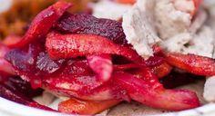 Ethiopian Keysir (beets, carrots, potatoes)