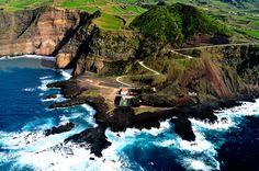Paisagem da ilha de São Miguel, Sao Miguel Island, Azores, Portugal