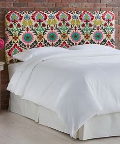 Another great find on Desert Flower Santa Maria Upholstered Headboard by Skyline Furniture Home Furnishing Accessories, Home Furnishings, Santa Maria, Master Bedroom, Bedroom Decor, Bedroom Ideas, How To Make Headboard, Desert Flowers, Headboards For Beds