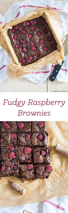 Vegetarian - Fudgy raspberry brownies The fudgiest raspberry brownies you will ever meet. The perfect late night treat to have when you need to indulge. Perfect with a glass of wine. Chocolate Raspberry Brownies, Raspberry Desserts, Brownie Recipes, Cheesecake Recipes, Breakfast Dessert, Healthy Dessert Recipes, Healthy Food, How Sweet Eats, Cookies Et Biscuits