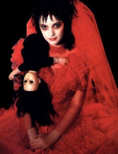 Cult film ... Winona Ryder in Beetlejuice in 1988