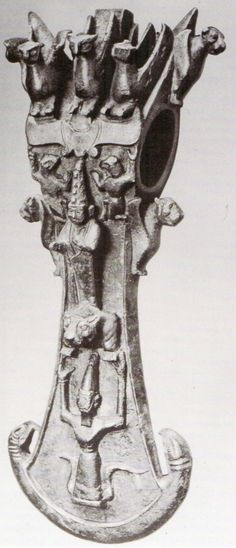 Hettite, Ceremonial ax, private collection, (Kurt Bittel) (Erdinç Bakla archive)